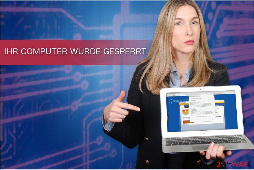 """""""IHR COMPUTER WURDE GESPERRT"""" image"""