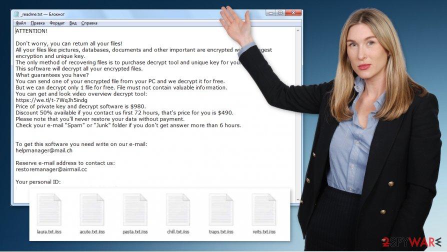 Iiss ransomware virus