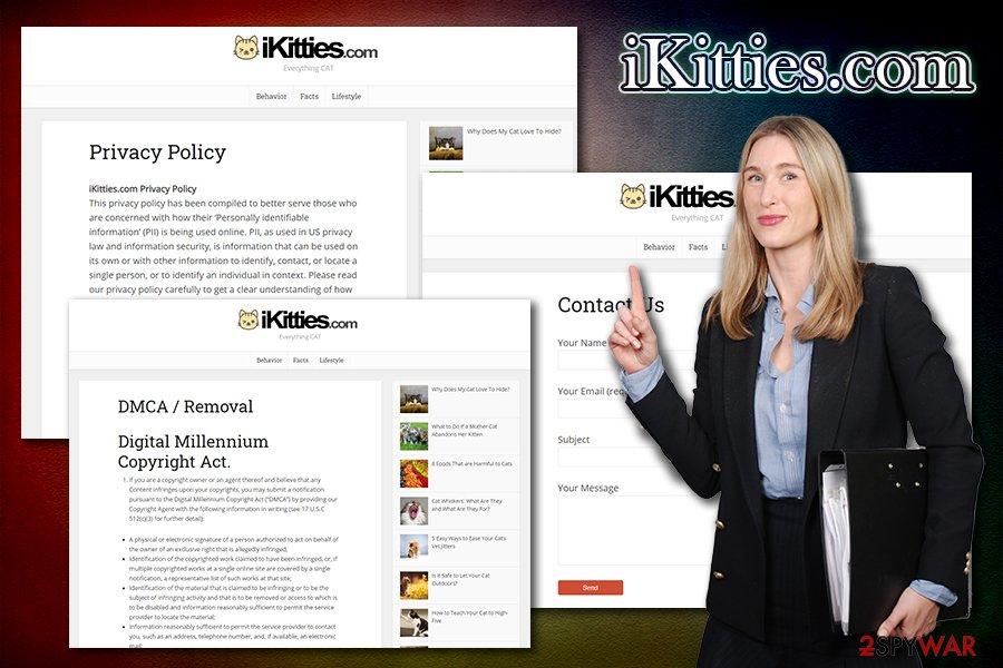 iKitties.com redirects