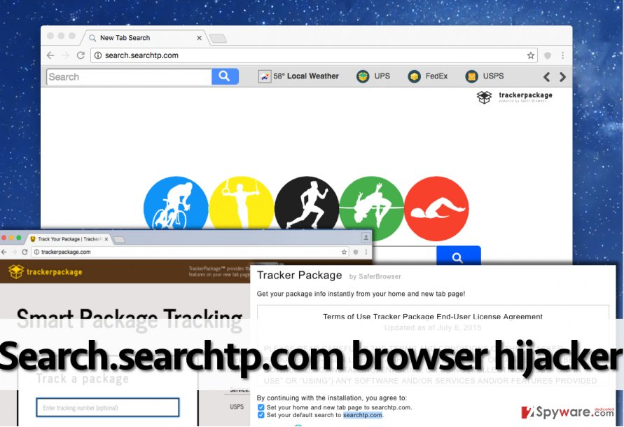 Search.searchtp.com redirect virus