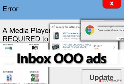 A few examples of Inbox OOO ads