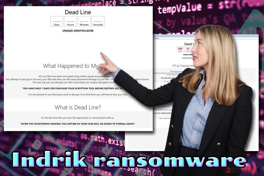 Indrik ransomware