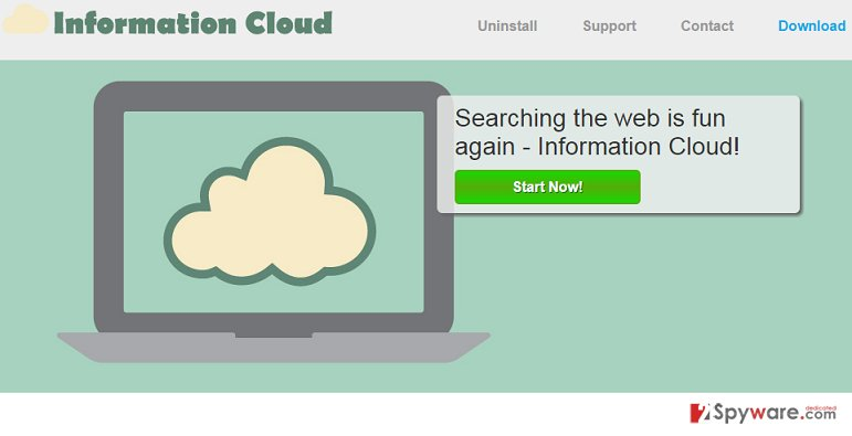Information Cloud virus