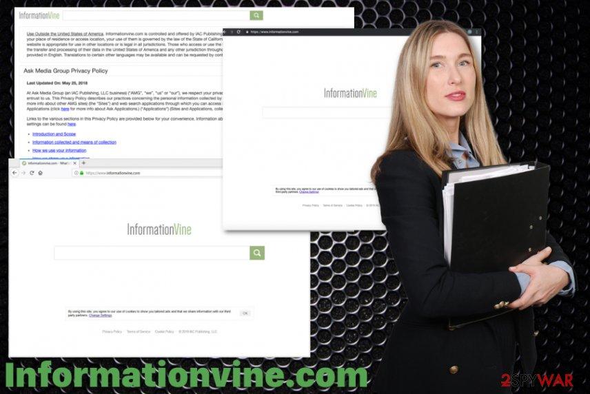 Informationvine.com hijack