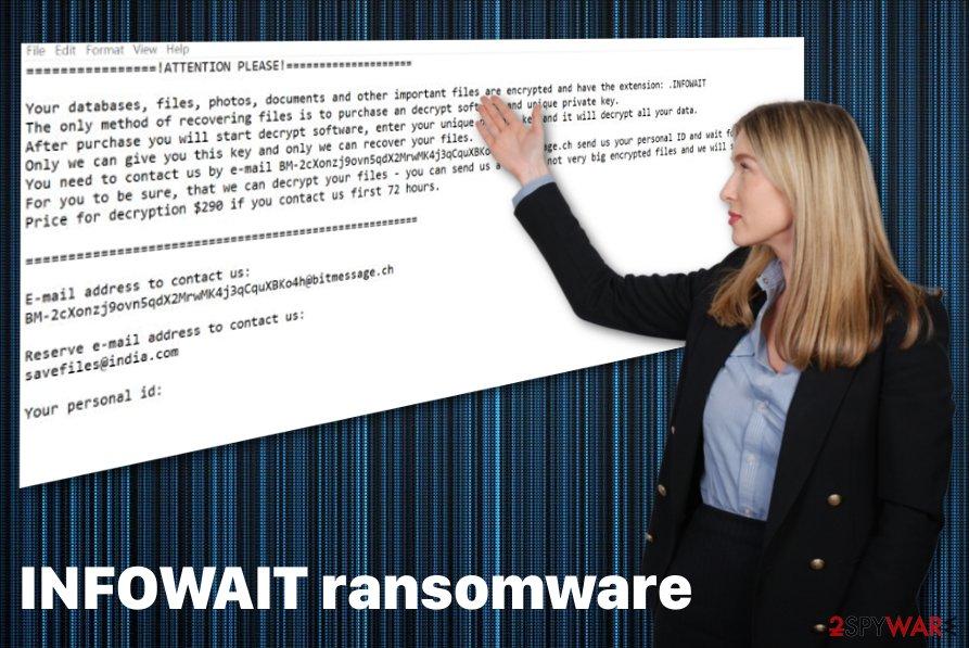 INFOWAIT ransomware virus