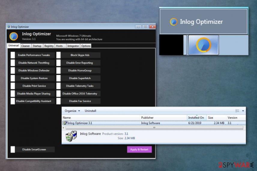 Inlog Optimizer