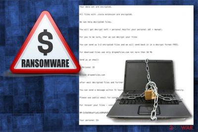 Insta ransomware