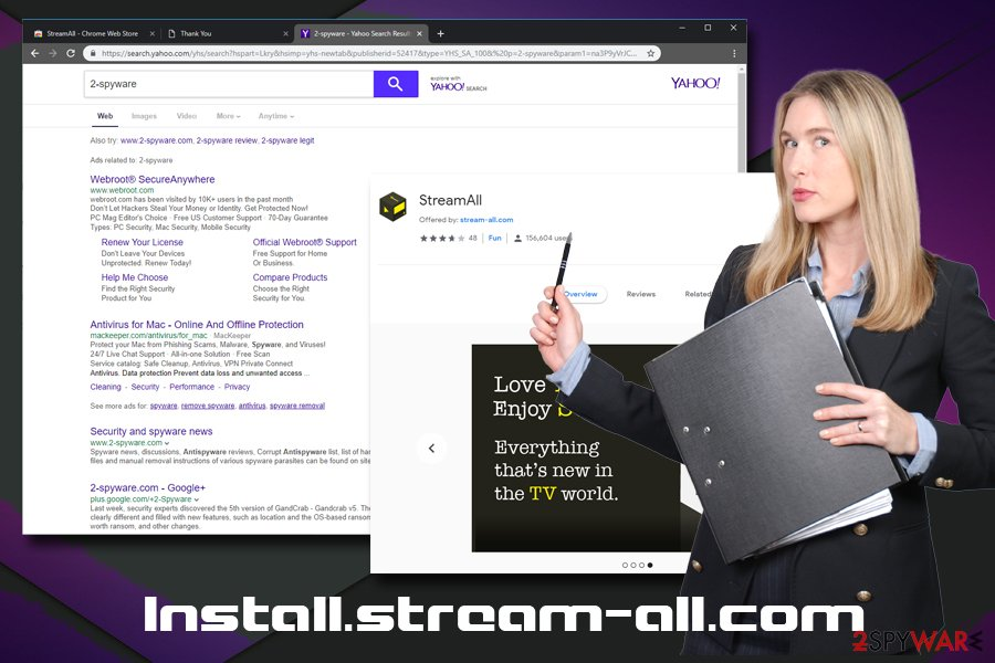 Install.stream-all.com PUP