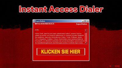 Instant Access Dialer