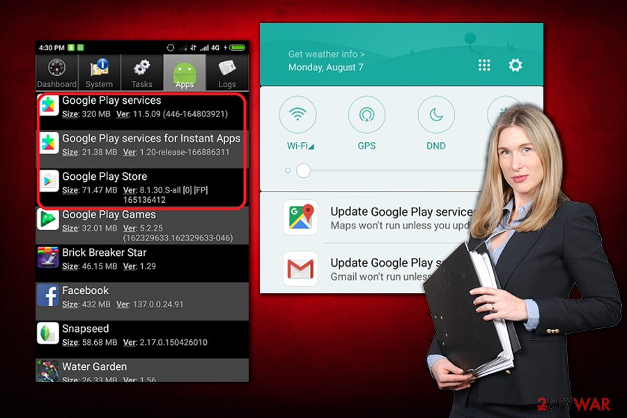Instant Apps Android virus not a virus