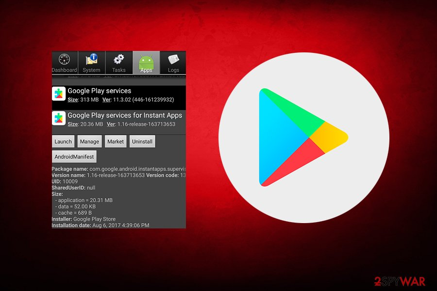 Instant Apps Android virus