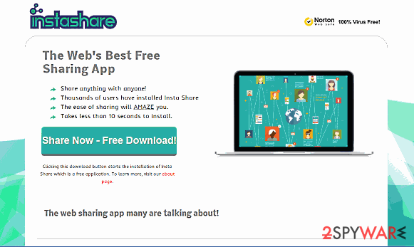 Insta Share ads snapshot
