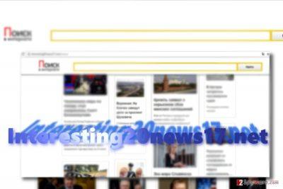 The image displaying Interesting20news17.net