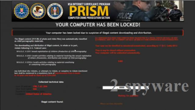 Internet Surveillance Program virus snapshot