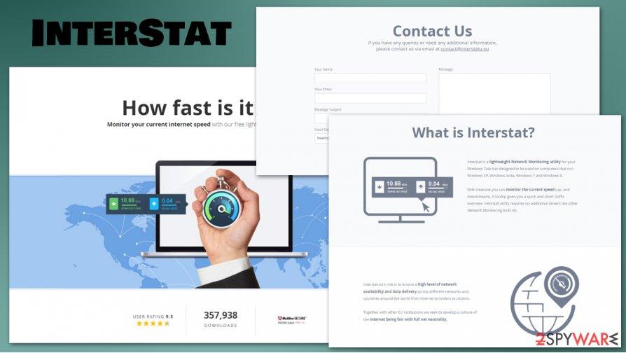 InterStat malicious processes