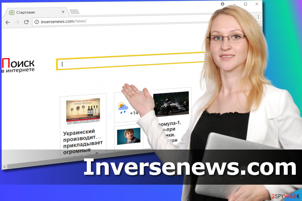 Inversenews.com redirect virus