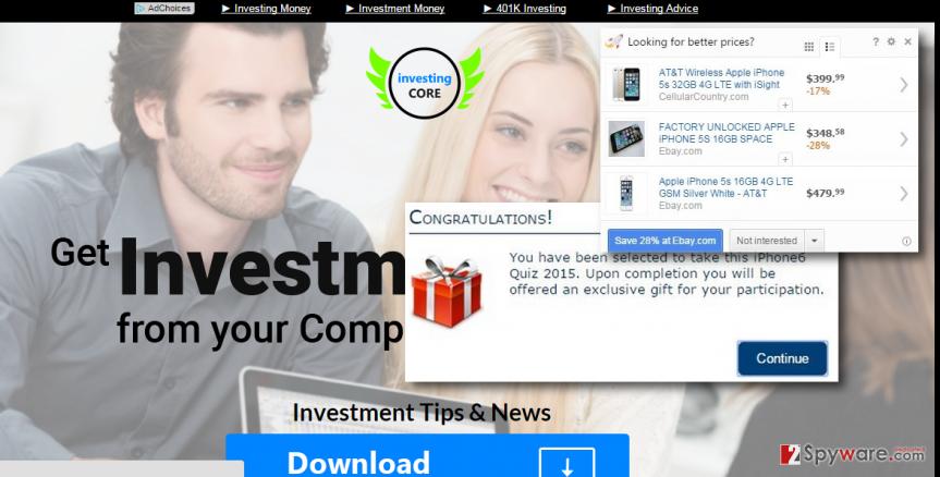 Investing Core malware