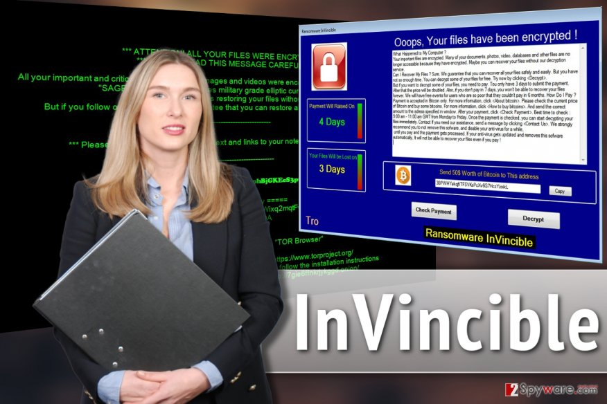 InVincible ransomware virus