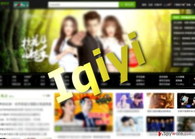 The picture of Iqiyi adware
