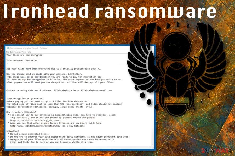 Ironhead ransomware