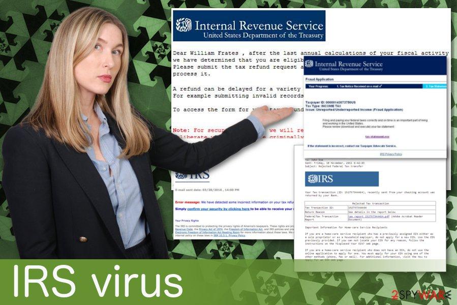 IRS virus
