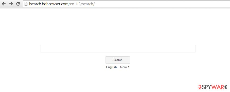 iSearch.bobrowser.com snapshot