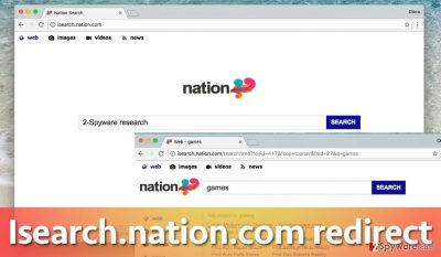 Isearch.nation.com virus in chrome