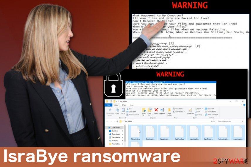 IsraBye ransomware virus
