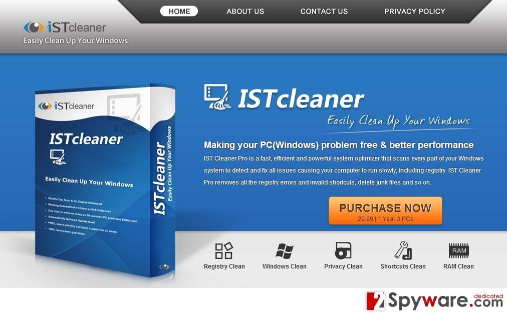 IST Cleaner Pro snapshot
