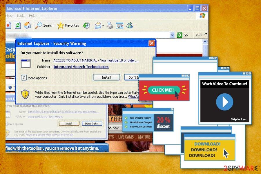 Istbar Tool virus