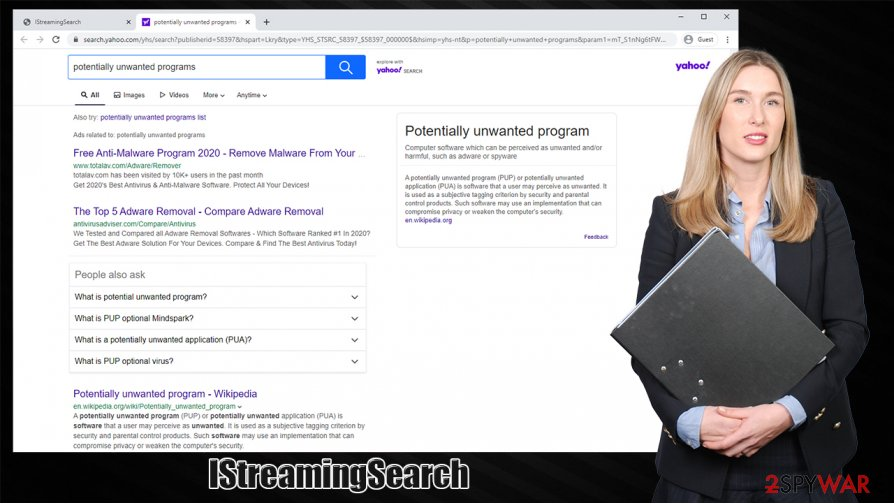 IStreamingSearch hijack