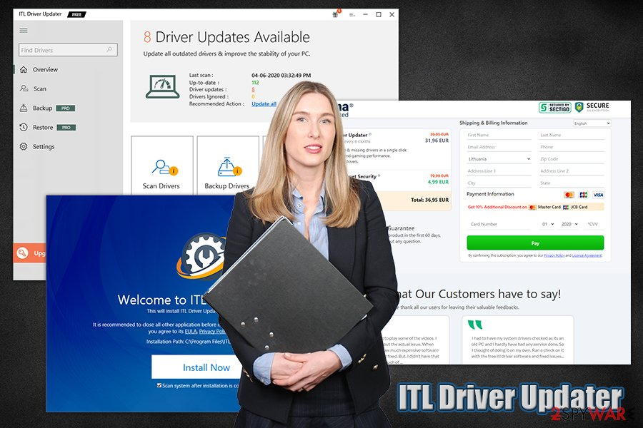 ITL Driver Updater PUP