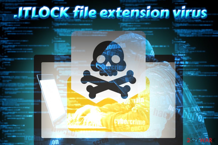 .ITLOCK file extension virus