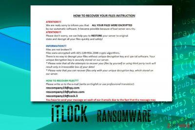 ITLOCK ransomware