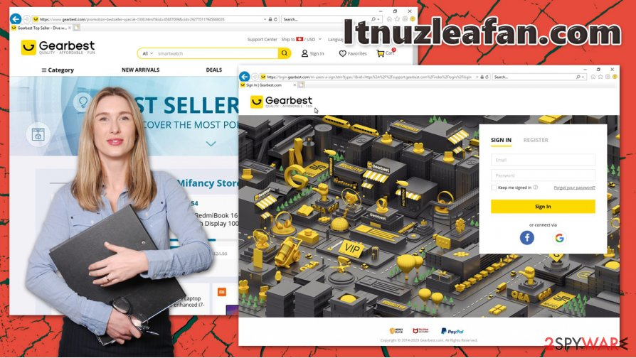 Itnuzleafan.com redirect