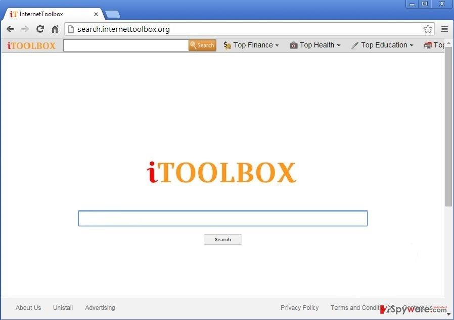 iToolbox Toolbar snapshot