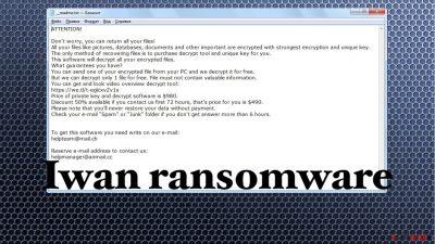 Iwan ransomware