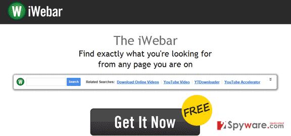 Iwebar ads snapshot
