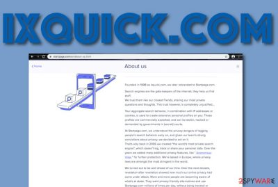 Ixquick.com PUP