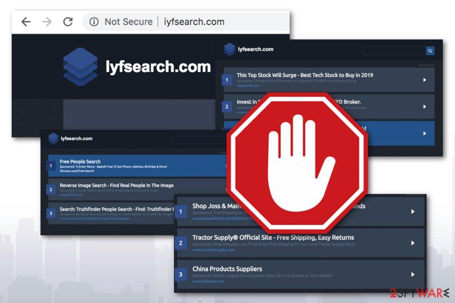 iyfsearch.com adware program