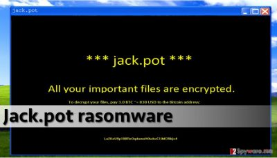 Picture of Jack.pot ransomware
