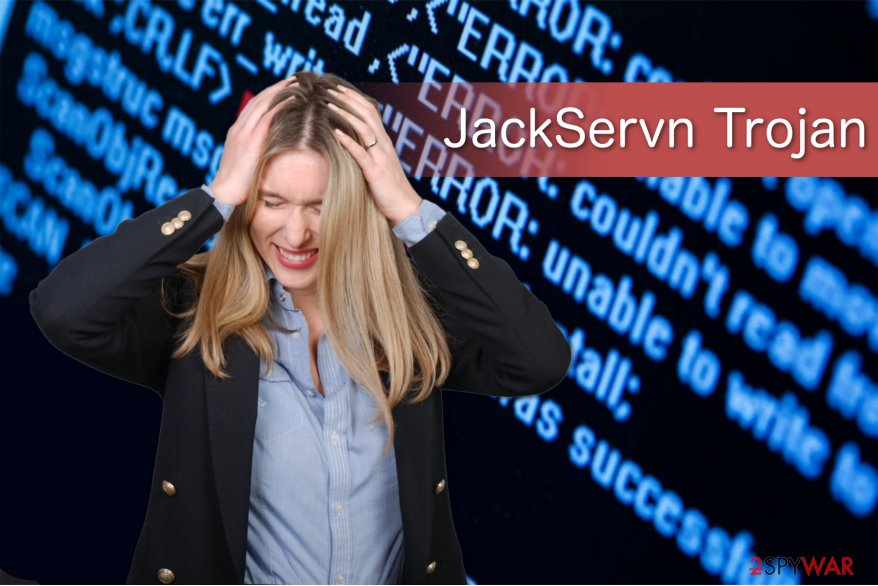 JackServn Trojan illustration