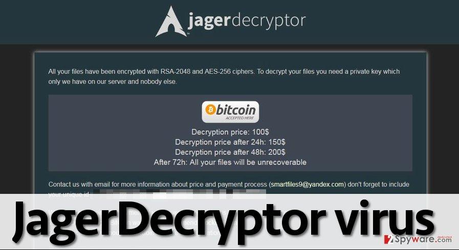 JagerDecryptor ransomware