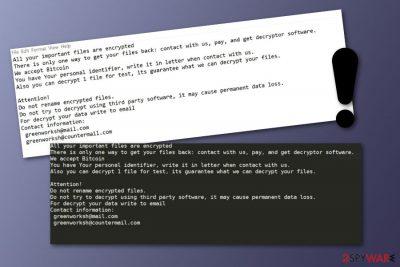 Jamper ransomware virus