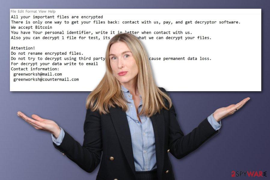 Jamper ransomware