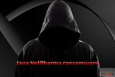 Java NotDharma ransomware