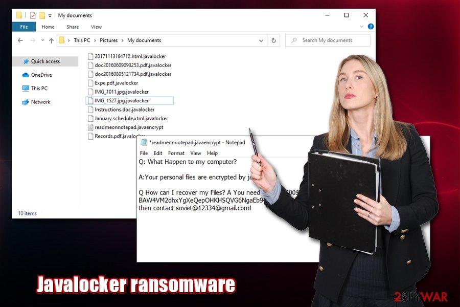 Javalocker ransomware