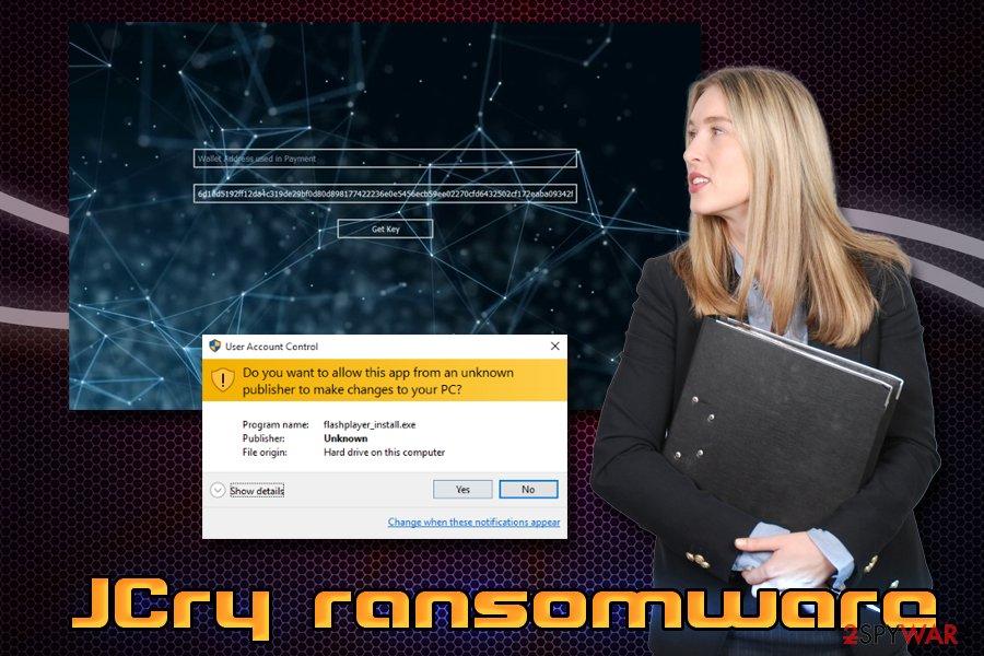 JCry ransomware virus