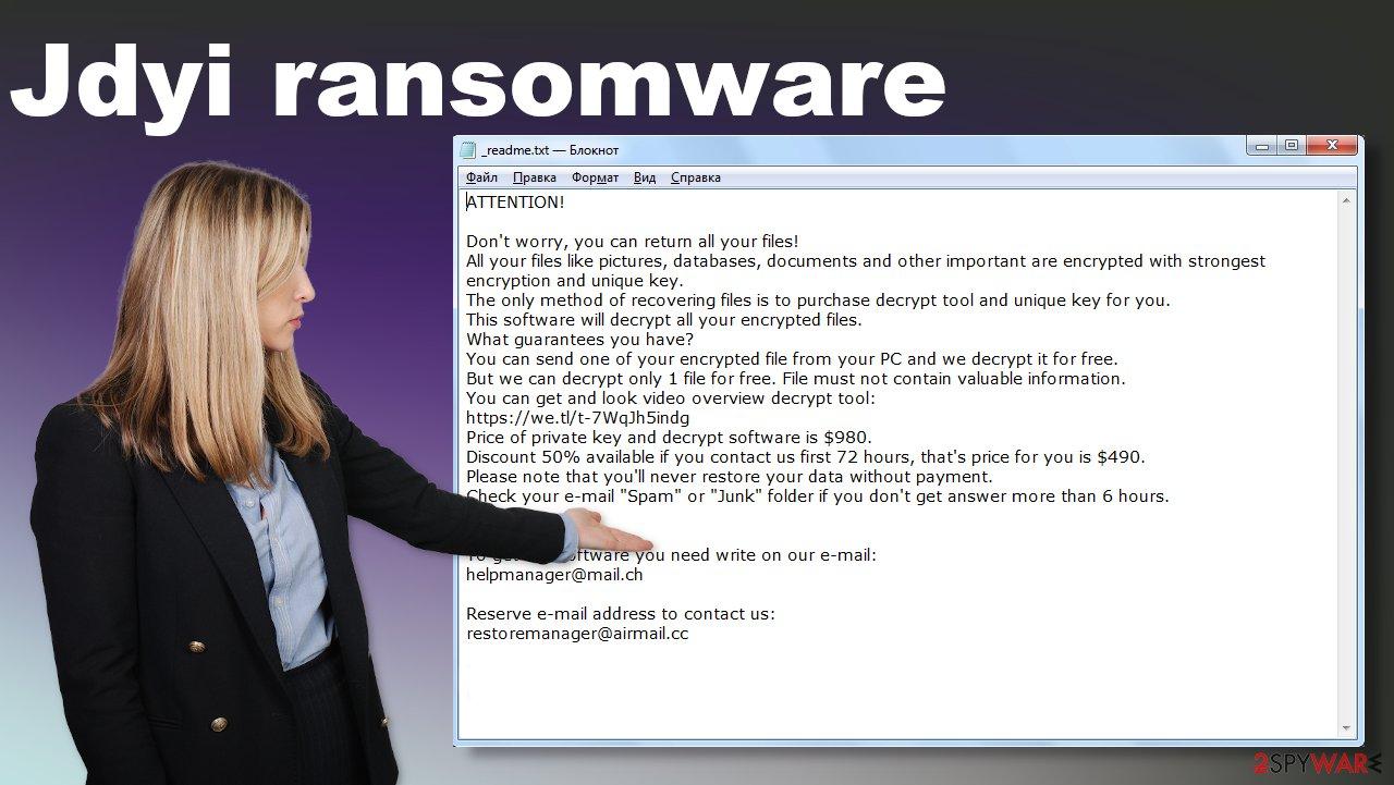 Jdyi ransomware virus