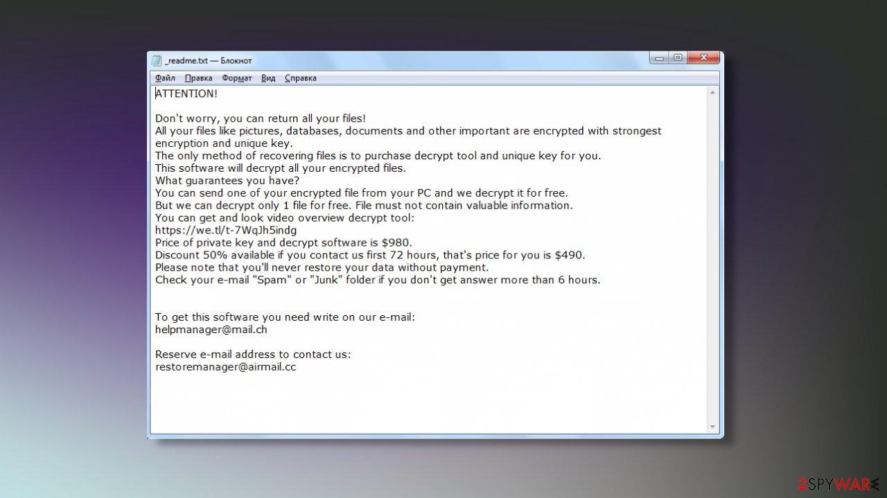 Jdyi ransomware